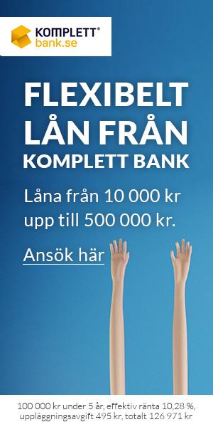 Ansök om lån hos Komplett Bank