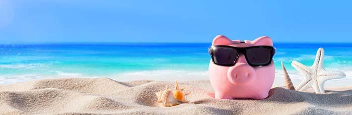 spara pengar till semester
